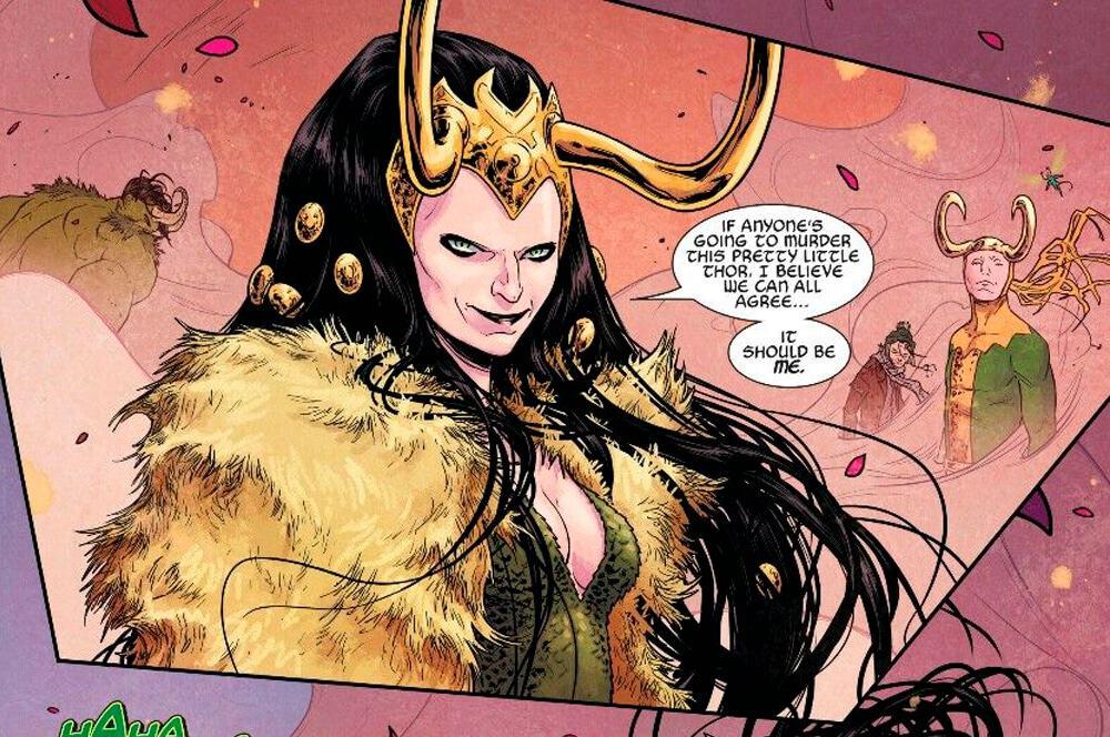 Lady Loki. Imagem: Marvel Comics/Reprodução