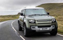 Land Rover vai começar a testar Defender movido a hidrogênio no fim de 2021