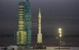 3 Taikonautas chegam à Tiangong, a estação espacial chinesa