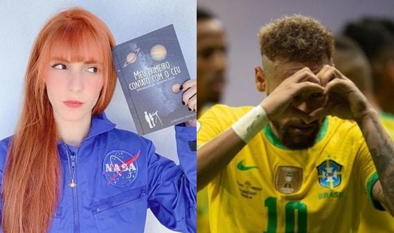 Lorrane e Neymar