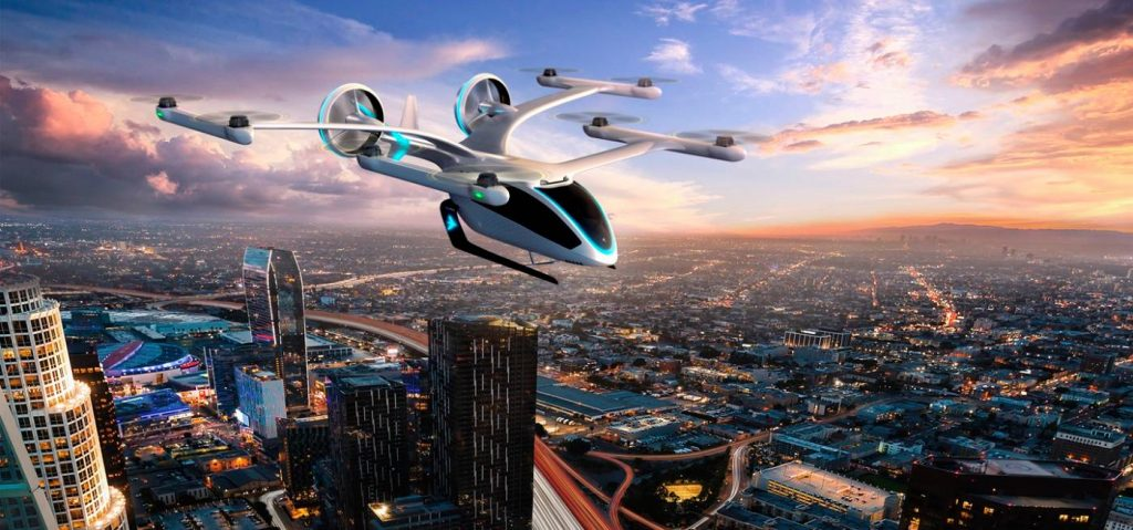 Carros voadores da embraer