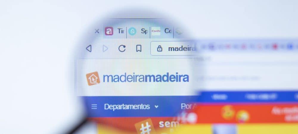 Logo MadeiraMadeira