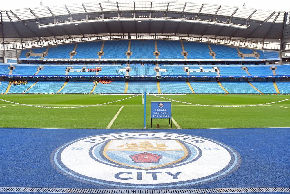 Estádio de futebol do clube Manchester City