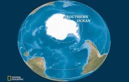 National Geographic diz que a Terra tem cinco oceanos