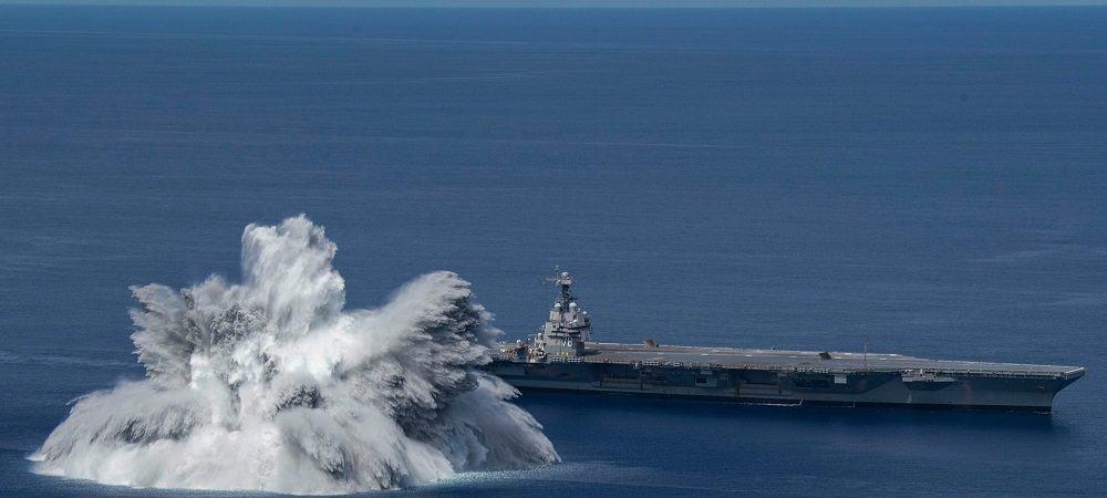 Marinha dos EUA causa terremoto de magnitude 3,9