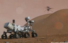 Ingenuity: helicóptero da Nasa completa seu oitavo voo em Marte