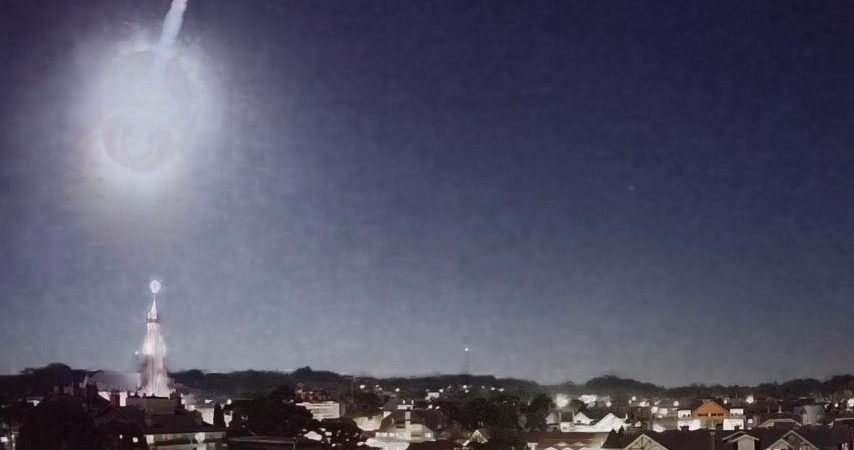 Meteor turns night into day for a while in Rio Grande do Sul