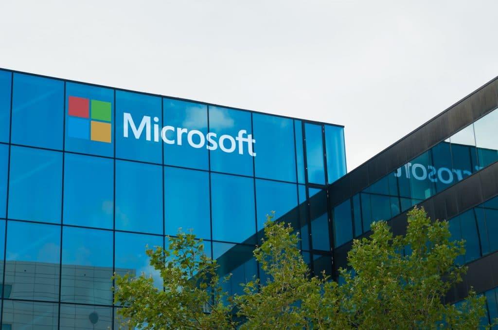 Fachada da Microsoft