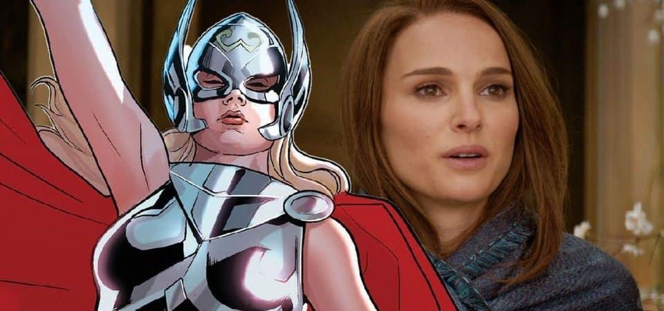 Thor 4: Natalie Portman retona como Janie Foster, mas agora como a Poderosa Thor. Imagem: Screenrant/Reprodução