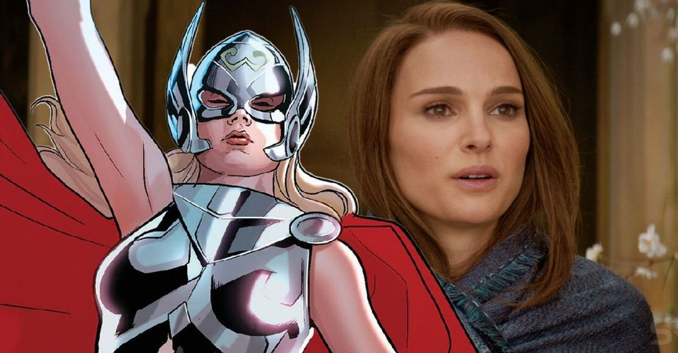 Thor 4: Natalie Portman retorna como Jane Foster, mas agora como a Poderosa Thor. Imagem: Screenrant/Reprodução