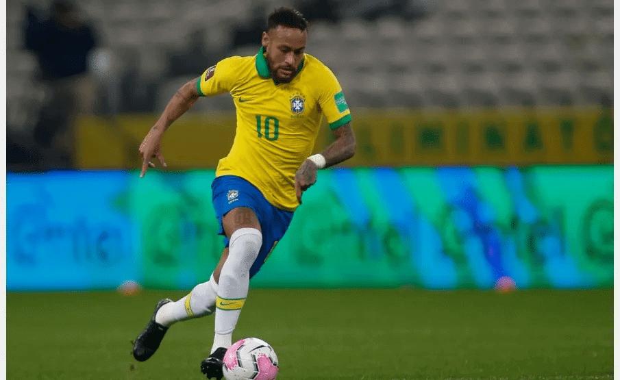 Neymar, astro do Paris Saint-Germain e da seleção brasileira de futebol