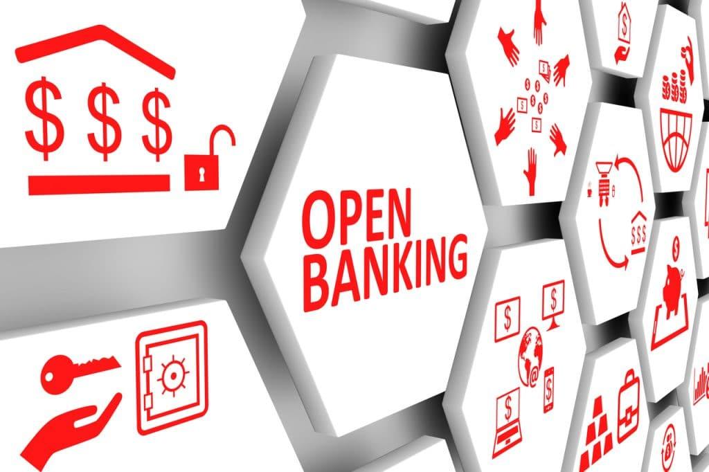 Ilustração do sistema Open Banking
