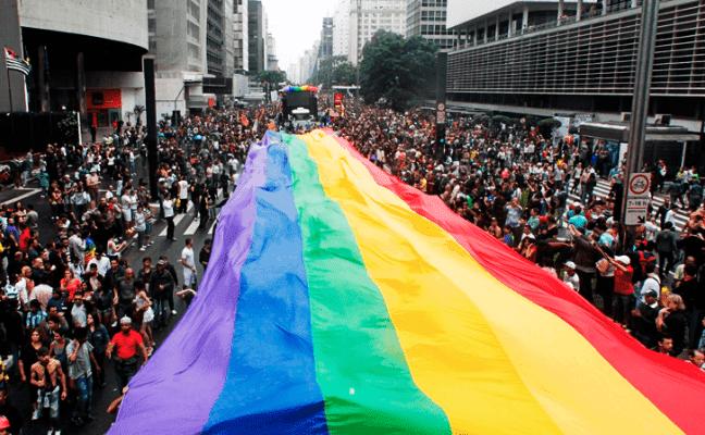Parada Gay na Avenida Paulista em São Paulo - Foto: Divulgação