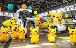 Pikachu Jet: Companhia aérea japonesa lança avião temático em homenagem aos 25 anos de Pokémon