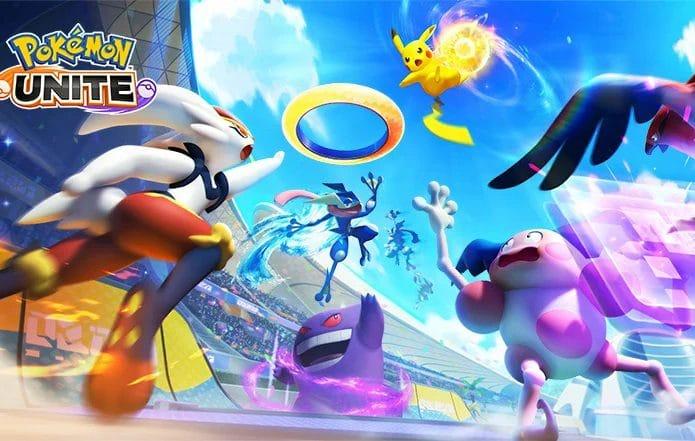 'Pokémon Unite' chega para Nintendo Switch em julho. Imagem: Reprodução/The Pokémon Company