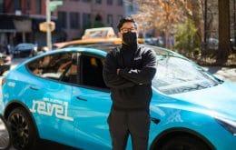 Polêmica: startup insiste em usar frota de Teslas para fazer transporte de pessoas em NY