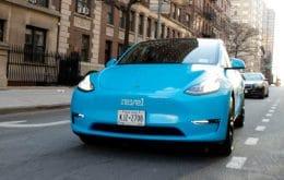 Nova York nega licenças para projeto de 'táxis de Tesla' de uma startup