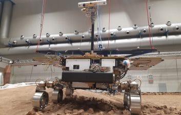 Cientistas italianos simulam solo de Marte em testes de novo rover