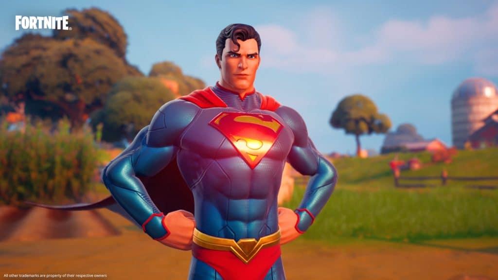 Superman llega a Fortnite. Imagen: Juegos épicos / Reproducción