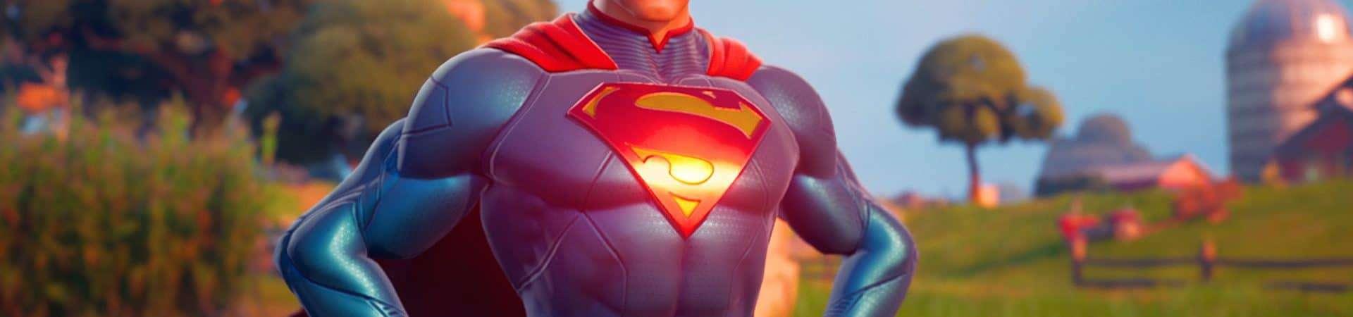 Superman está chegando ao Fortnite. Imagem: Epic Games/Reprodução