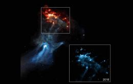 """""""Mão fantasma"""" aparece em imagem de raios-x da Nasa"""