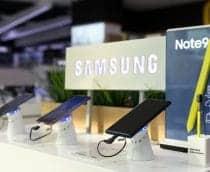 Samsung atinge receita recorde no terceiro trimestre do ano