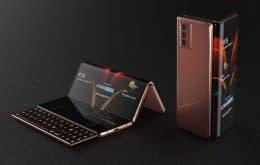 Novidade dobrável: Samsung deve produzir modelo Galaxy Z Fold 3 em breve