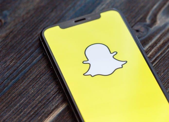 Snapchat. Imagem: Shutterstock
