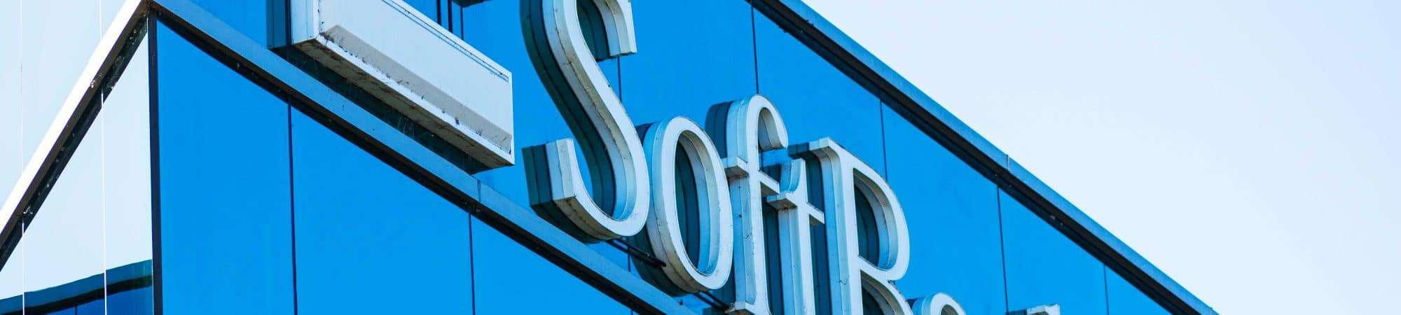 Fachada da empresa SoftBank