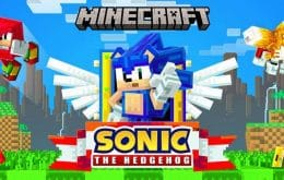 Novo pacote de DLC coloca o Sonic no Minecraft