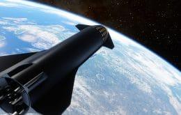 SpaceX planeja para julho primeiro voo espacial orbital de seu Starship