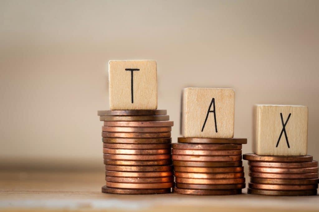 Ilustração de taxas