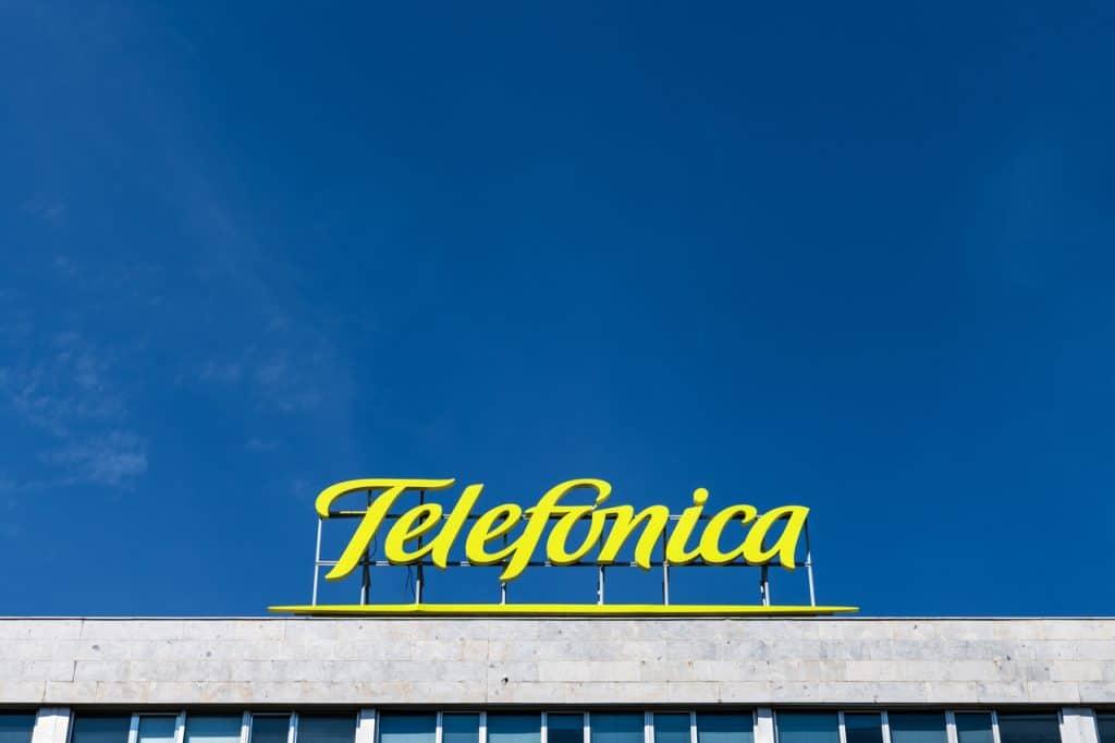 Fachada da Telefónica