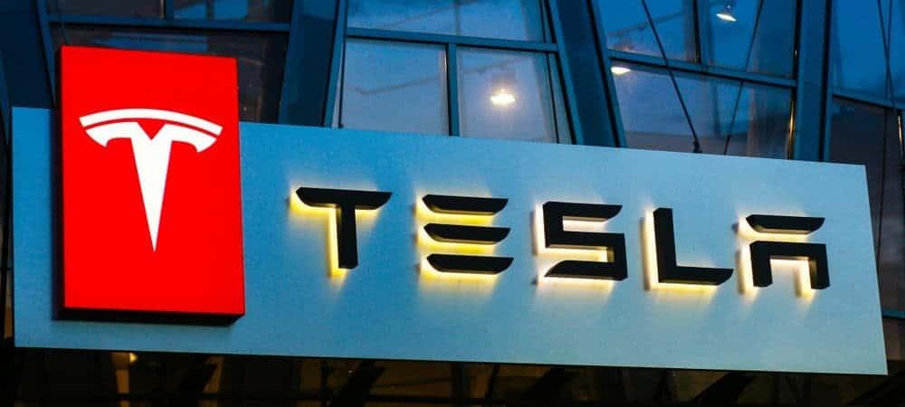 Logo da Tesla