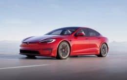 O mais veloz: Tesla lança o  Model S Plaid, carro mais sofisticado da marca até hoje