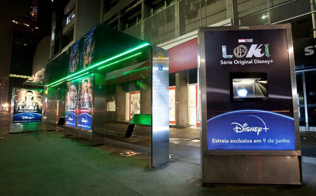 Tesseract de São Paulo está na Avenida na Paulista. Imagem: Divulgação/Disney+