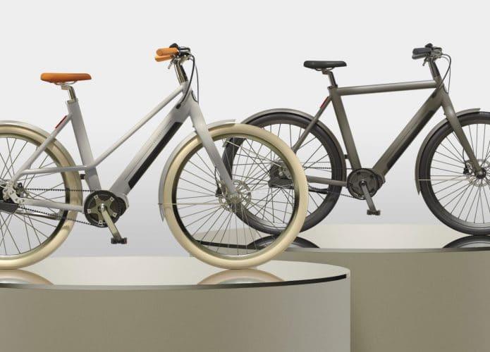 As bicicletas elétricas da Veloretti Ivy (esquerda) e Ace (direita). Imagem: Veloretti/Divulgação