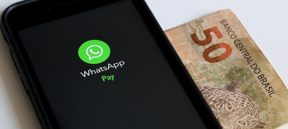 WhatsApp Pay. Imagem: Shutterstock
