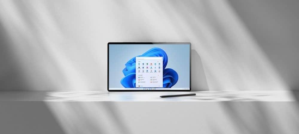 Imagem promocional mostra o Windows 11 rodando na tela de um notebook