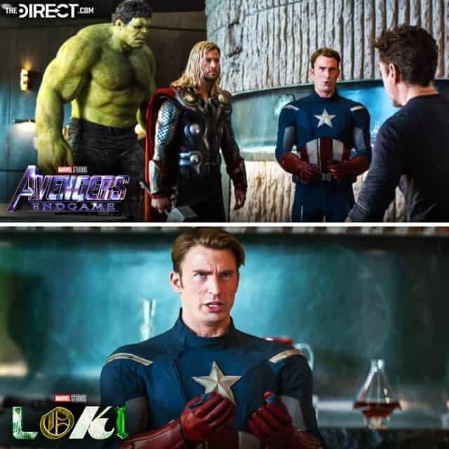 Loki: Primeiro episódio tem cenas inéditas de Vingadores Ultimato; veja. Imagem: The Direct.com/Reprodução