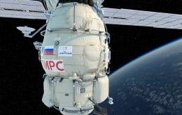 Após 20 anos de uso, módulo Pirs deixa Estação Espacial Internacional