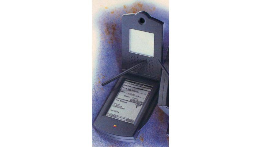 Imagem mostra um conceito de celular com câmera desenvolvido pela Apple. Projeto, porém, nunca saiu do papel