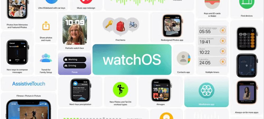 apple watch watchos