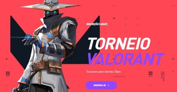 Arena Gaming, da Claro, terá torneio de 'Valorant'. Imagem: Divulgação/Claro