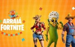 """Festa junina digital: Fortnite traz """"Arraiá"""" em tempos de pandemia de Covid-19"""