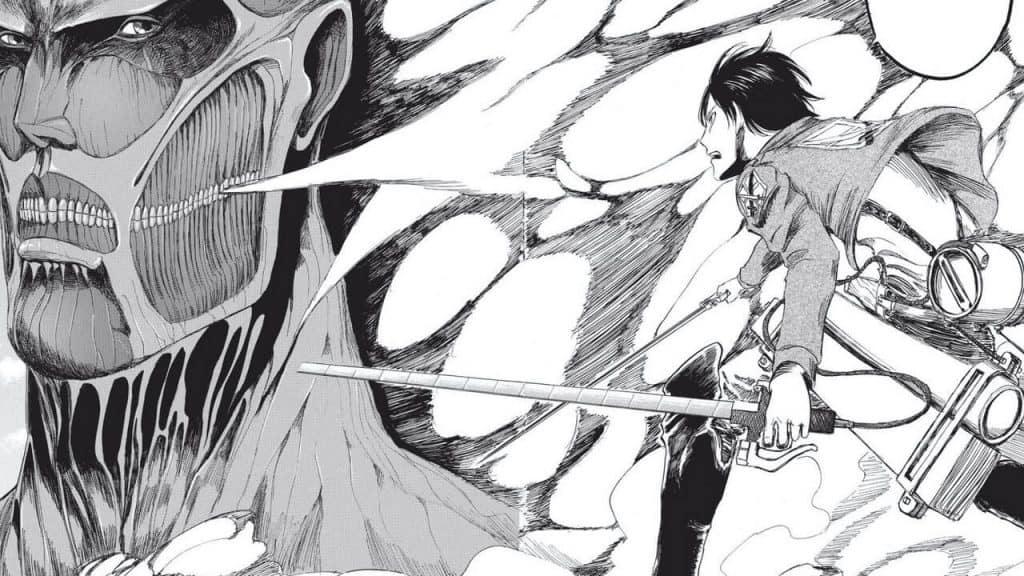 Mangá de 'Attack On Titan', publicado pela Kodansha, já virou alvo judicial em casos de pirataria on-line. Imagem: Kodansha/Reprodução