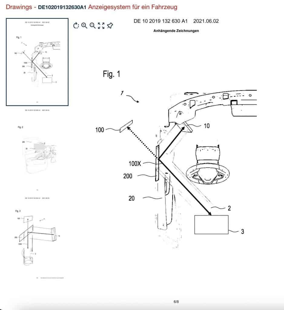 Desenho com o que mostra como funcionará o sistema da BMW. Imagem: i4talk/Reprodução