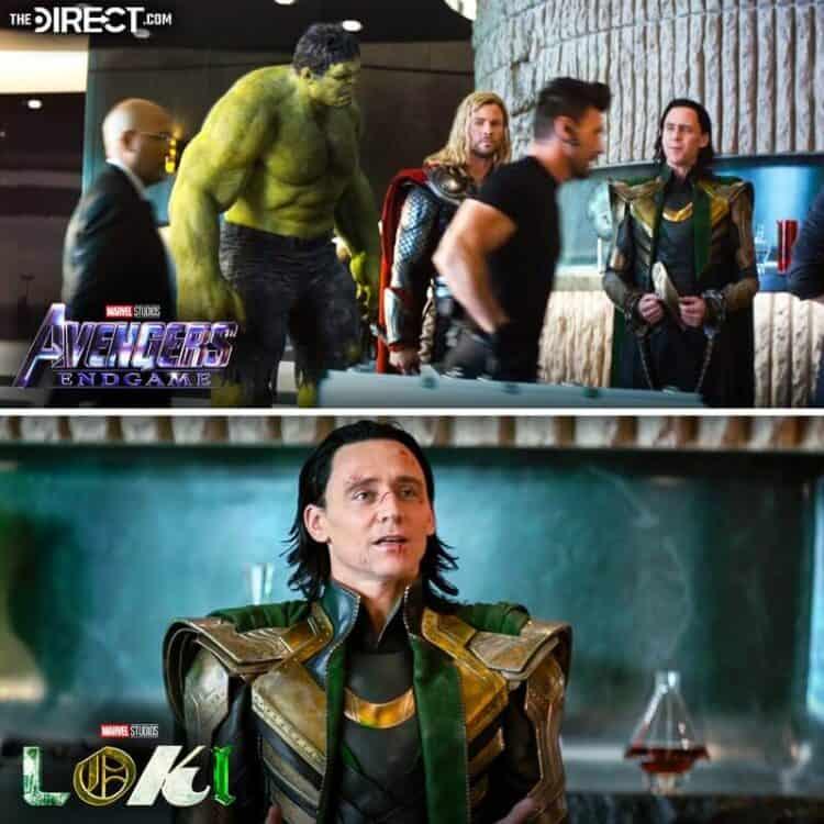 'Loki': primeiro episódio utilizou cenas deletadas de 'Vingadores: Ultimato'. Imagem: The Direct.com/Reprodução