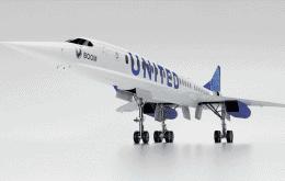 United Airlines compra aviões supersônicos para voos comerciais
