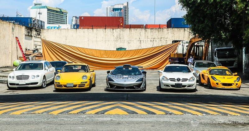 McLaren 620R e outros supercarros são destruídos nas Filipinas
